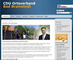 Homepage CDU Bad Bramstedt